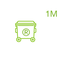 Icona contenidor reciclatge